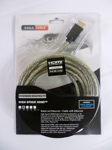 HDMI 1.4 High Speed with Ethernet